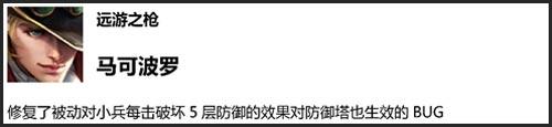 王者荣耀体验服4月3日更新内容